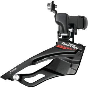 Shimano Tourney FD-A073 Umwerfer 3 x 7-fach schwarz schwarz