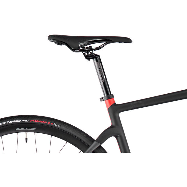 Wilier Cento 1 Hybrid Ultegra 1x11 black/red