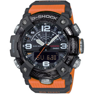 CASIO G-SHOCK Mudmaster GG-B100-1A9ER Watch Men black/orange black/orange