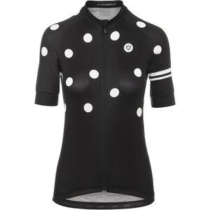 AGU Essential Dot Shortsleeve Jersey Damen black/white