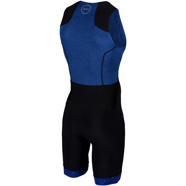 Zone3 Performance Culture Trisuit Herren marl navy/black/grey