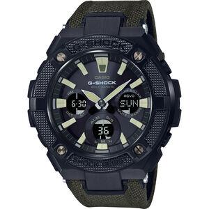 CASIO G-SHOCK GST-W130BC-1A3ER Watch Men green black/grey chrom green black/grey chrom
