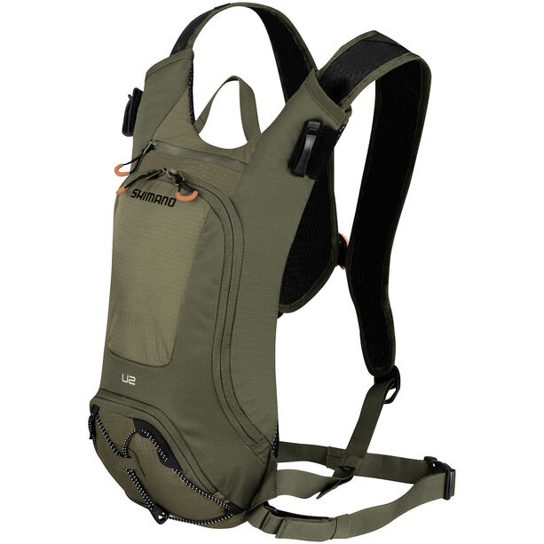 Shimano Unzen II Trail Backpack 2 L olive green