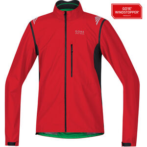 GORE BIKE WEAR Element WS AS Zip-Off Jacket Herren red/black red/black