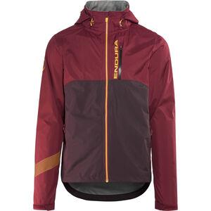 Endura Singletrack II Jacket Herren claret claret