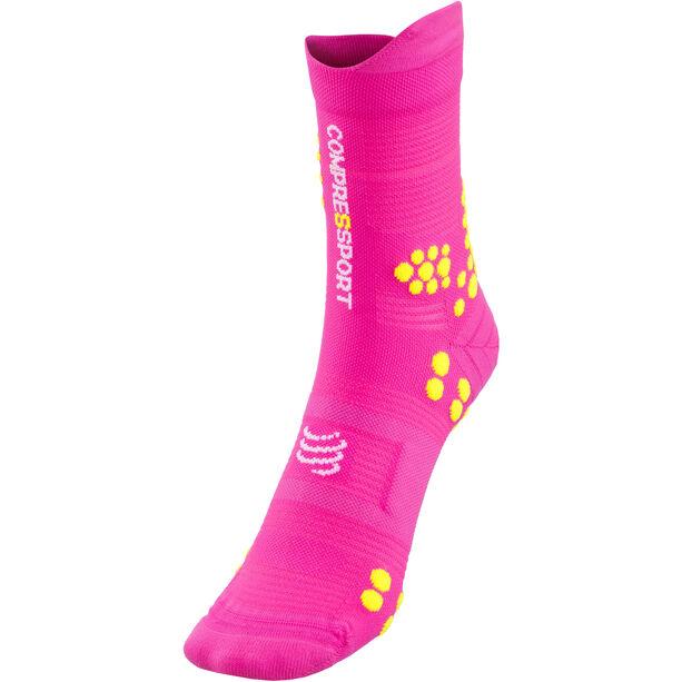 Compressport Pro Racing V3.0 Trail Socks fluo pink