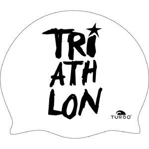 Turbo Triathlon Swimming Cap White/Black bei fahrrad.de Online