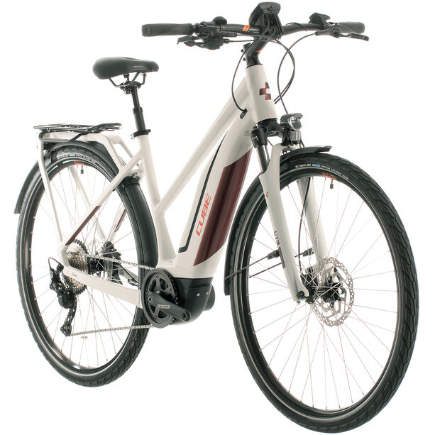 Cube Touring Hybrid Pro 500 Trapez grey/red