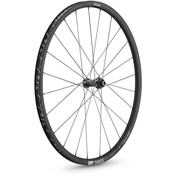 "DT Swiss CRC 1400 Spline 24 Front Wheel Tyre 28"" Carbon CL 100/12mm TA"