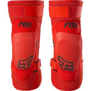 Fox Launch Pro D3O Knee Guards red red