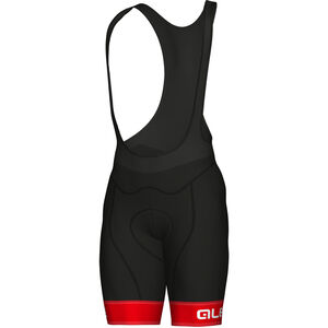 Alé Cycling Graphics PRR Sella Bib Shorts Herren red-white red-white