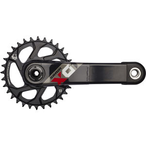 SRAM X.01 Eagle BB30 Kurbelgarnitur 32 Zähne schwarz-rot bei fahrrad.de Online