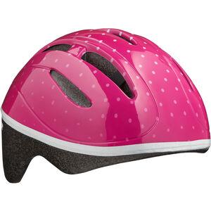 Lazer Bob Helmet Kinder pink dots pink dots