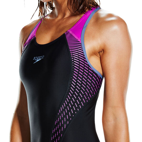 speedo Fit Laneback Swimsuit Women