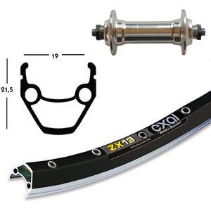 Exal ZX 19 Vorderrad 26x1.75 Alu Nabe SSP silber silber