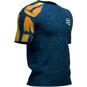 Compressport Training Kona 2019 SS T-Shirt Herren blue blue