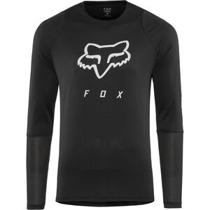 Fox Defend Foxhead LS Jersey Herren black black