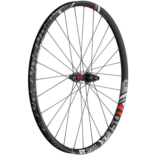 "DT Swiss EX 1501 Spline One Hinterrad 29""/30mm TLR Clincher 12/148mm Boost SRAM XD black"