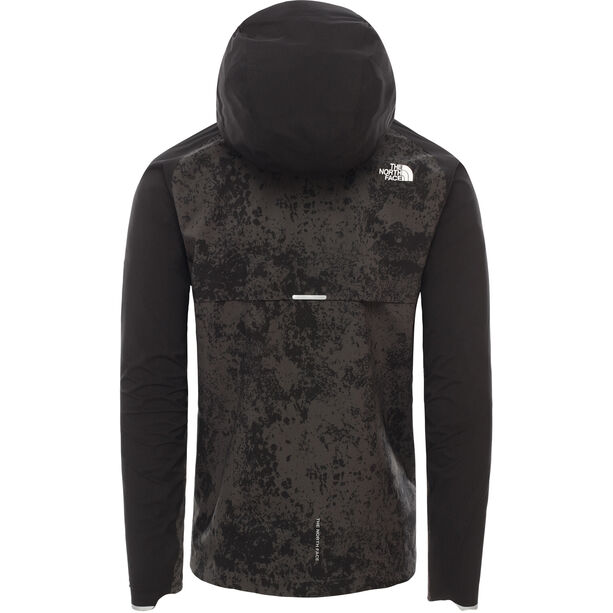 The North Face Ambition H20 Jacke Herren asphalt grey grunge print/tnf black