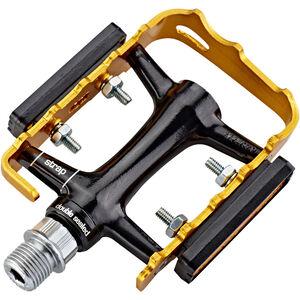 NC-17 Trekking Pro Pedals Alu schwarz/gold schwarz/gold