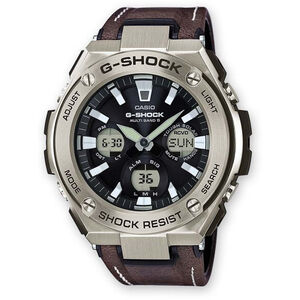 CASIO G-SHOCK GST-W130L-1AER Watch Men black silver/white black black silver/white black