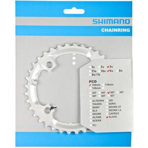 Shimano Alivio FC-M431 Kettenblatt 9-fach silber silber