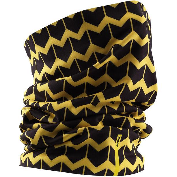 Mavic Cosmic Neck Warmer yellow mavic/black