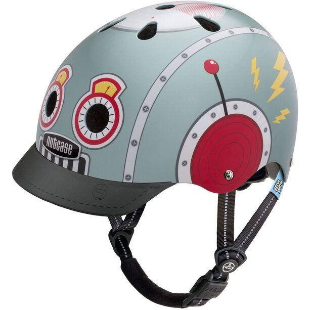 Nutcase Little Nutty Street Helmet Kinder tin robot