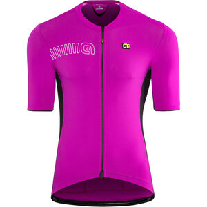Alé Cycling Solid Color Block SS Jersey Herren cyclamen cyclamen