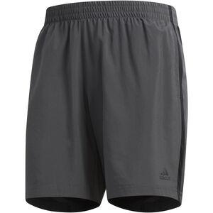 "adidas Own The Run Shorts 7"" Herren grey six/black grey six/black"
