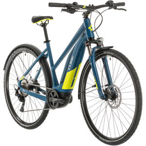 Cube Nature Hybrid EXC 500 Allroad Trapez blue/lime blue/lime