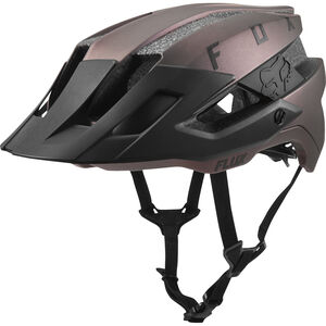 Fox Flux Solid Trail Helmet Herren black iri black iri