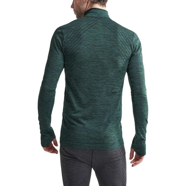 Craft Fuseknit Comfort Zip Shirt Herren pine melange
