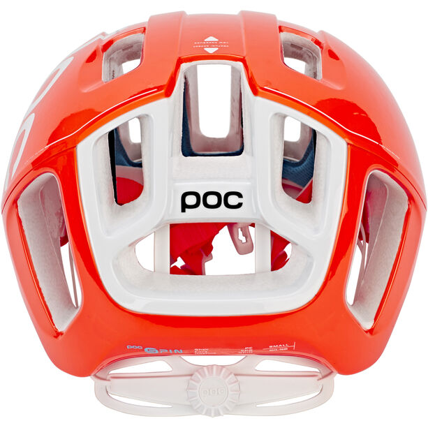 POC Ventral Spin Helm zink orange avip