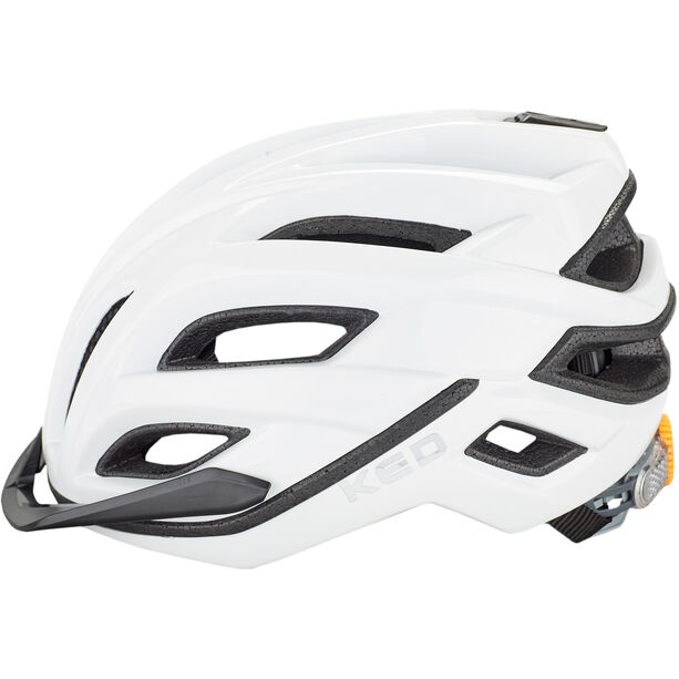 KED Champion Visor Helmet white