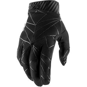 100% Ridefit FA18 Gloves black/white black/white