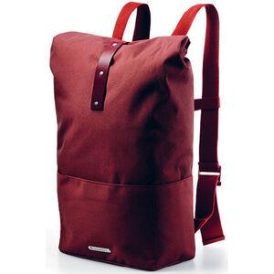 Brooks Hackney Rucksack 24-30l red fleck/maroon red fleck/maroon