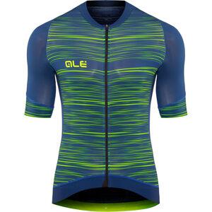 Alé Cycling Graphics PRR End SS Jersey Herren blue-flou green blue-flou green