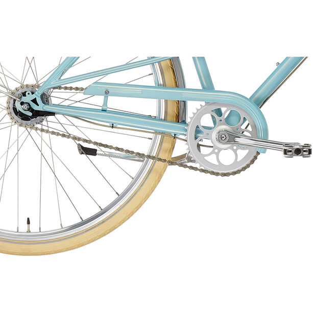 Creme Caferacer Solo Damen turquoise