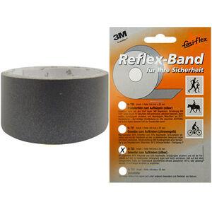 fasi Reflexband 1m x25mm, selbstklebend silber silber