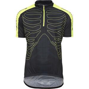 Northwave Skeleton Jersey SS Herren black-yellow black-yellow