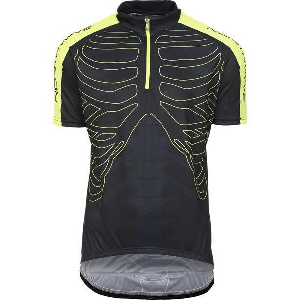 Northwave Skeleton Jersey SS Herren black-yellow