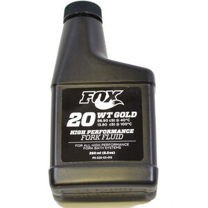 Fox Racing Shox 2015 Bath Oil AM, 20 WT Gold, 250ml