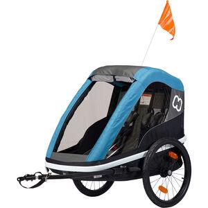 Hamax Avenida Bike Trailer petrol blue bei fahrrad.de Online