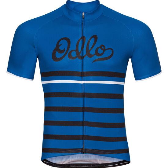 Odlo Fujin Print Stand-Up Collar SS Full Zip Shirt Men bei fahrrad.de Online