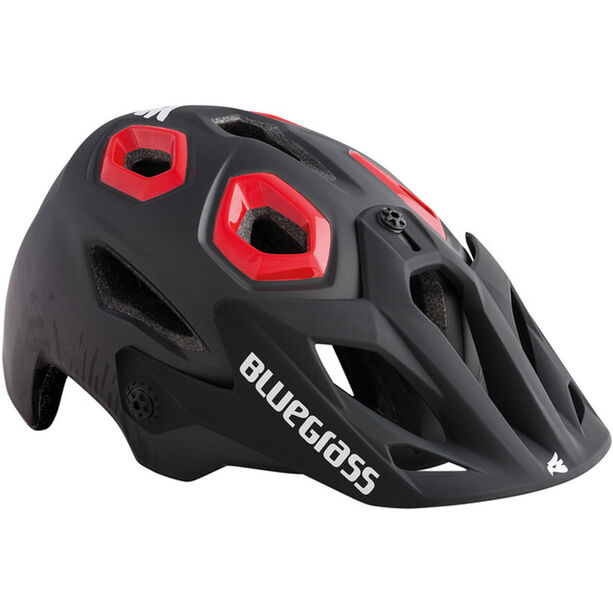 bluegrass Golden Eyes Helm black/red