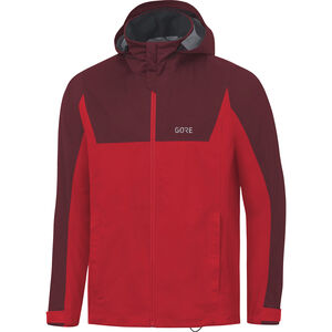 GORE WEAR R3 Gore-Tex Hooded Jacket Men red/chestnut red bei fahrrad.de Online