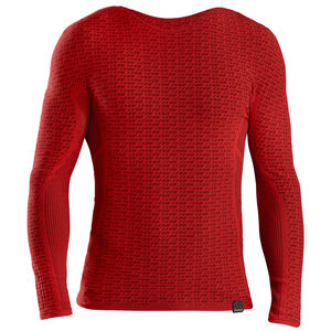 GripGrab Freedom Seamless Thermal Langarm Baselayer red red