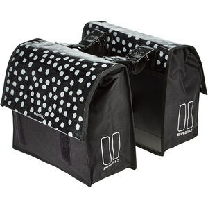 Basil Urban Load S Double Pannier Bag 25l black/reflective black/reflective