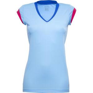 GORE RUNNING WEAR SUNLIGHT 4.0 Shirt Damen ice blue/jazzy pink ice blue/jazzy pink